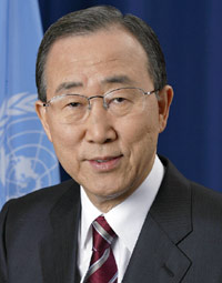 Profiting from Terrorism. - Ban Ki-Moon (Vice Minister of Foreign Affairs and Trade, incumbent Secretary-General of the U.N.)